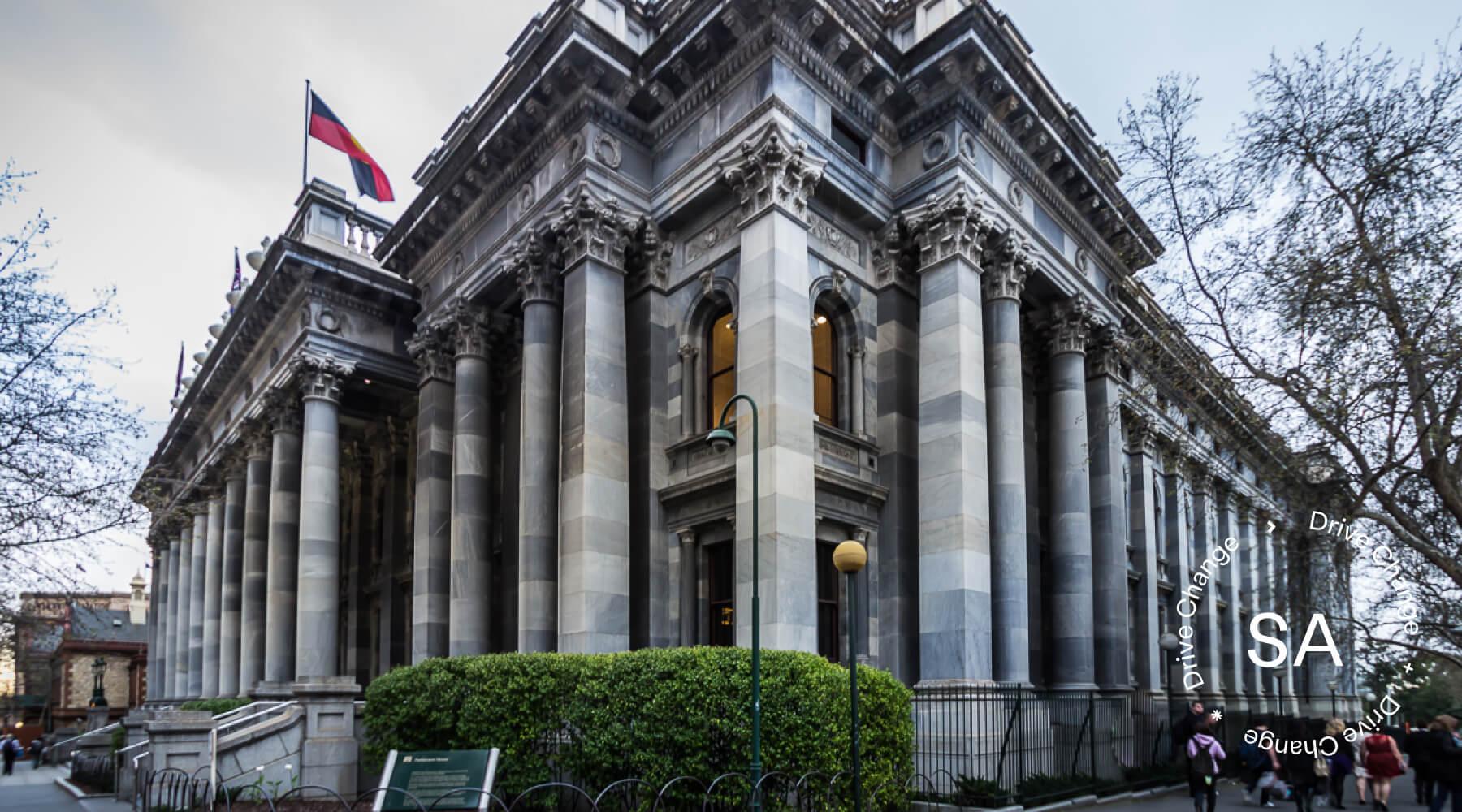 Tammy Franks Invites Drive Change Team To South Australian Parliament