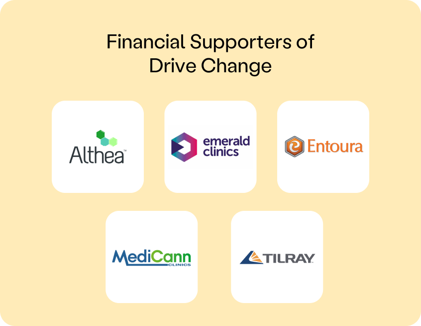 financial supporters of drive change