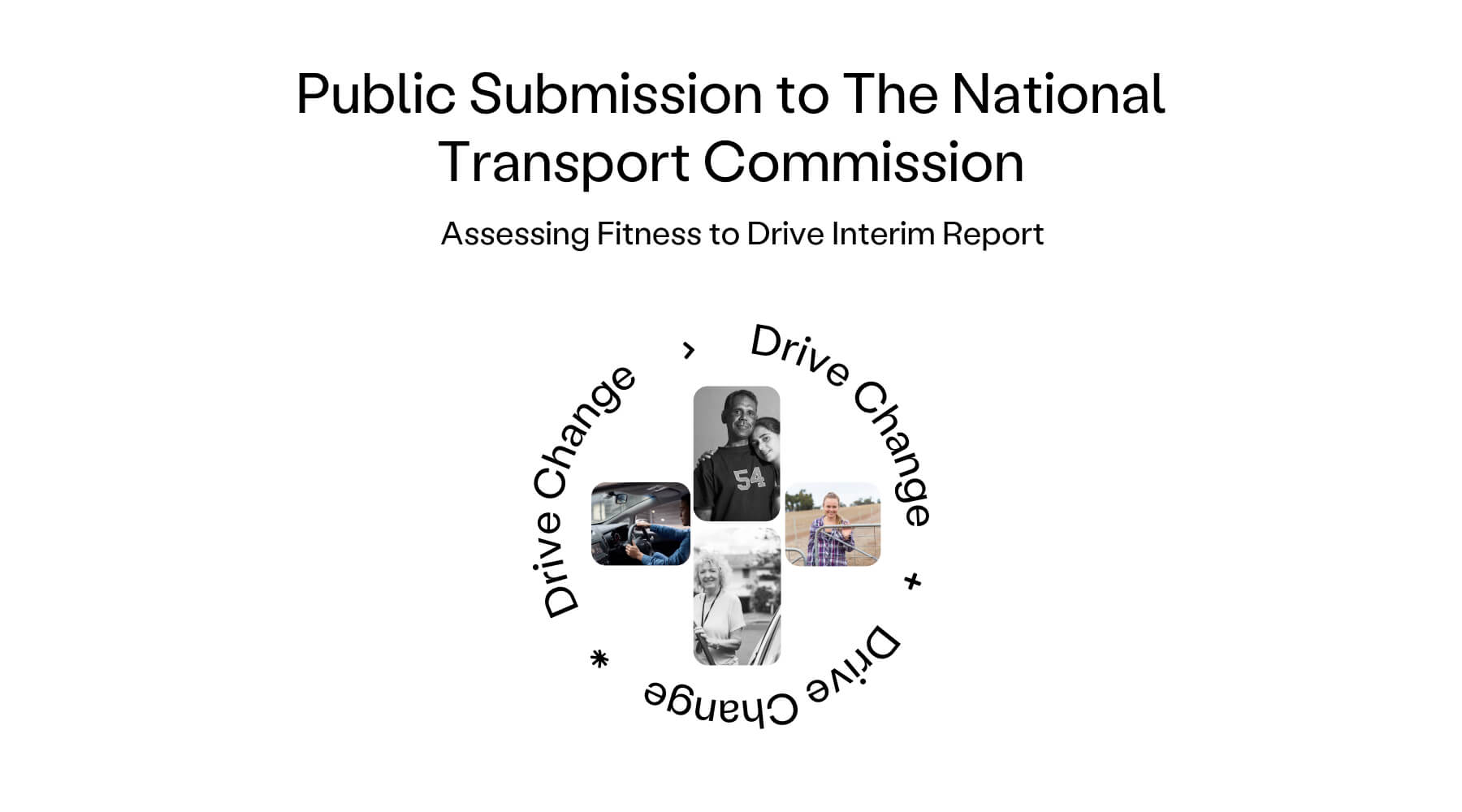 drive change public submission national transport commission blog cover